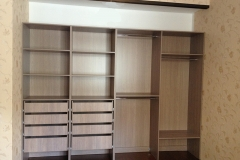 Шкаф встроенный на заказ по индивидуальным размерам