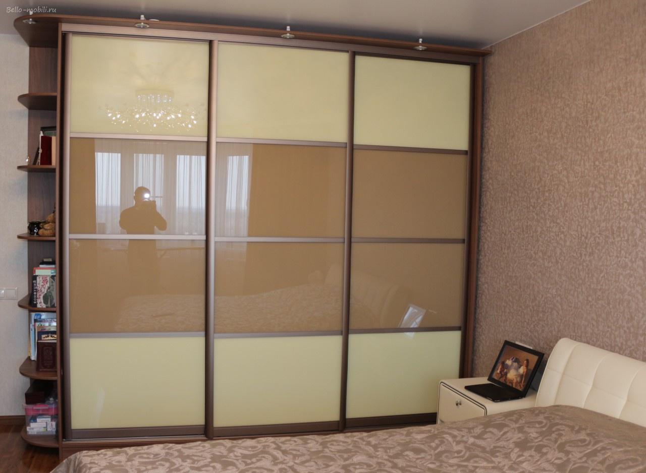 Двери стекло с пленкой для шкафов-купе - образцы, фото, прим.