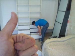 Шкаф купе на заказ в спальню