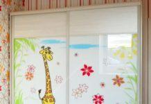 Шкаф в детскую комнату на заказ